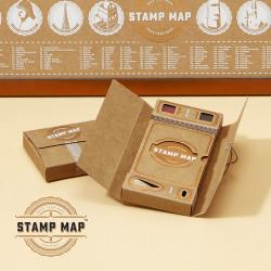 Passport-Stamp-Map
