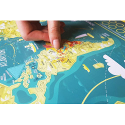 Mapa Zdrapka Świat MAPITO